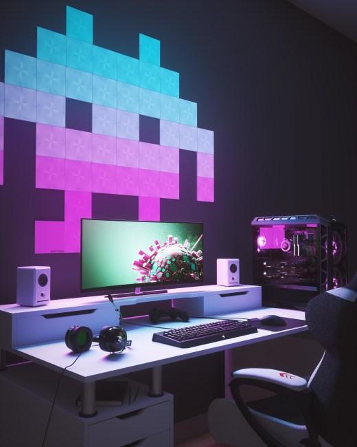 Nanoleaf Shines at CES Debuting Innovative Nanoleaf Canvas Light Panels