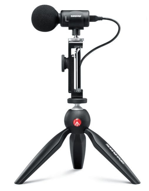 The Shure MV88 Plus Video Kit Is Your All-In-One Mobile Video Studio