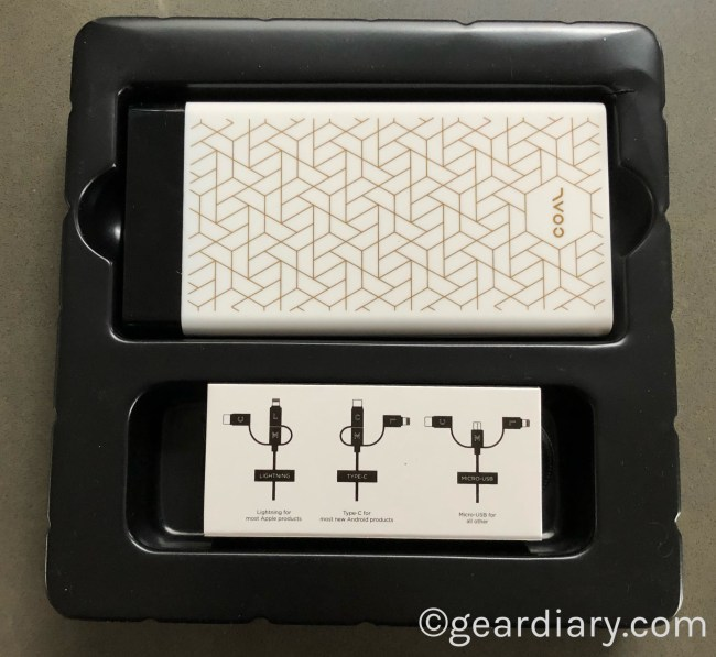 Coal Portable Charger Has Style and a Little Something Extra