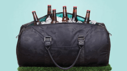 The Corkcicle Insulated Ivanhoe Duffle Makes Transporting Food & Beverages Easier