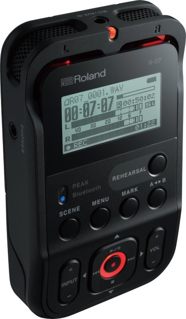 The Roland R-07 Takes High Quality Portable Audio to an Affordable Next Level