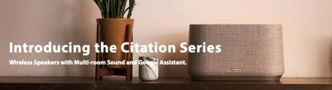 Harman Kardon Citation ONE Is the Start of Your Smart Multi-Room Speaker System