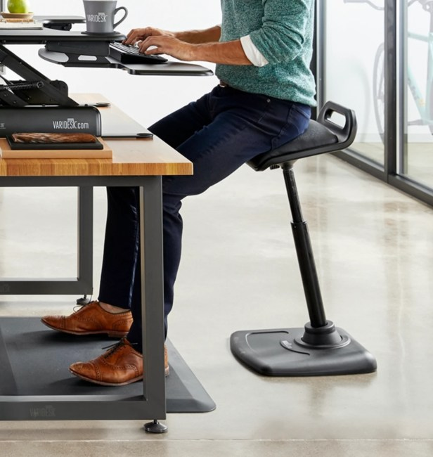 Vari Active Seat Is Next Your Sit-Stand Desk Chair