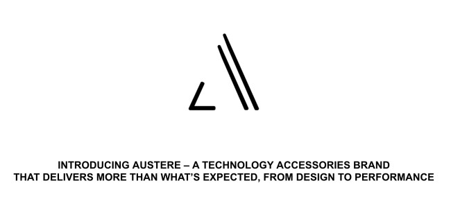 Check out Austere, a New Mobile Accessory Company