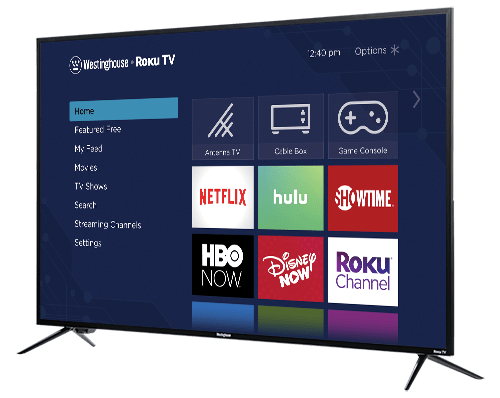 Westinghouse Announces New Roku TV Line
