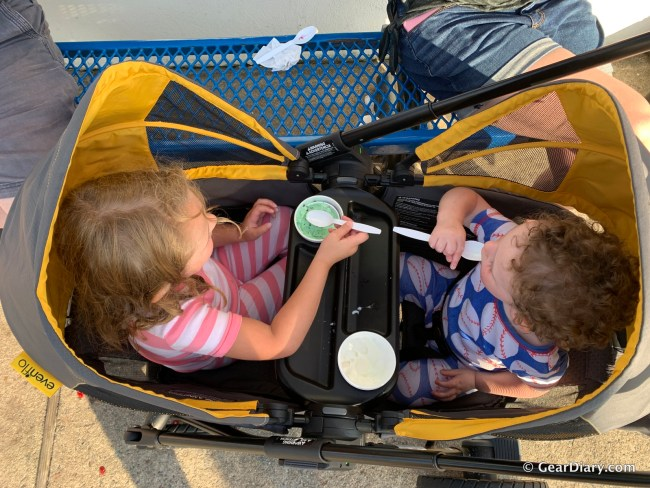 Evenflo Impresses with Their New Pivot Xplore Stroller Wagon and EveryStage Convertible Car Seat