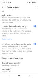 Google Home Set-Up Lenovo Smart Clock-034
