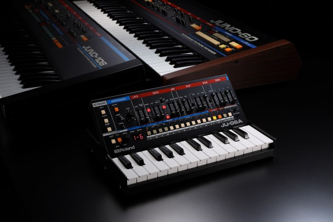 #909Day Continues as Roland Announces New Hybrid JU-06A Boutique Synth!