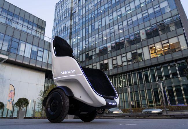 Segway-Ninebot Unveils Futuristic New Personal Transportation Options