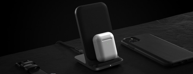 Nomad Base Station Stand: Two Powerful Charging Coils in a Sleek, Compact Stand