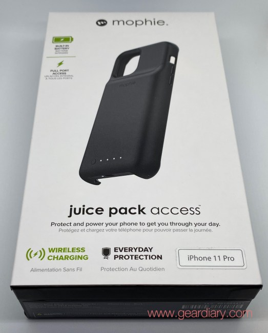 Mophie Juice Pack Access for iPhone 11 Pro Review