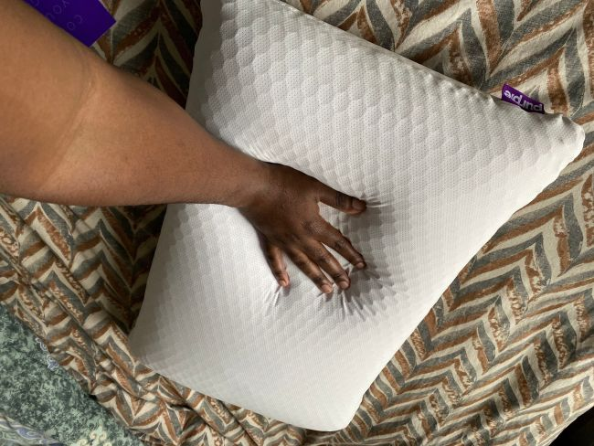 The Purple Harmony Pillow Review: No Pressure Support Comes with a Bit of Sticker Shock
