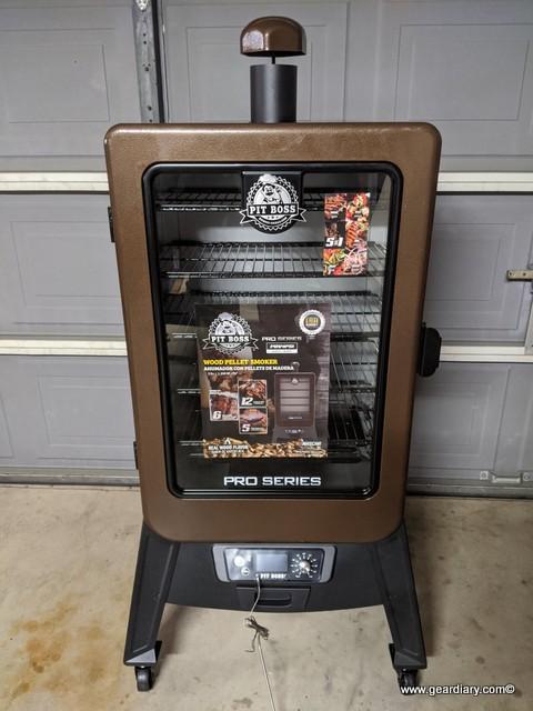 Pit Boss Pro Series 4 Vertical Smoker