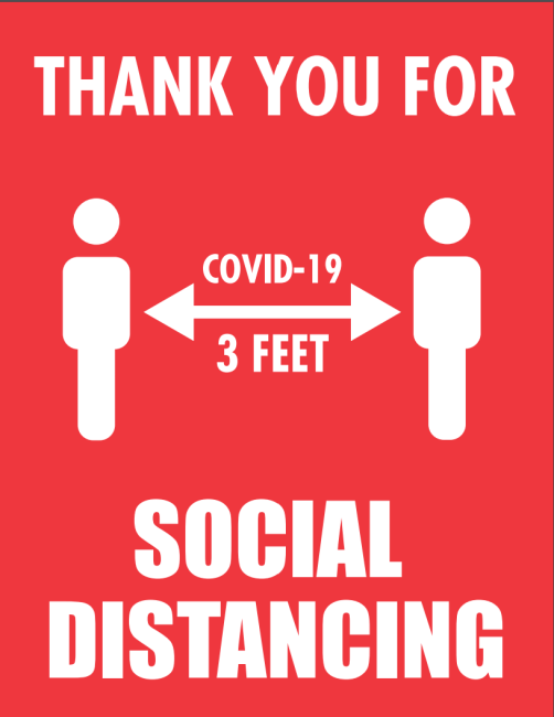 Here's Your Sign: Free COVID-19 Coronavirus Signs and Posters to Download and Print