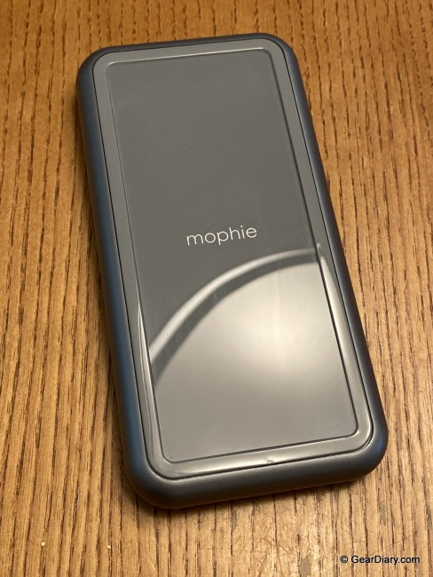 The Mophie Powerstation Plus Power Bank with Integrated Lighting Cable Is Perfect for iPhone Users
