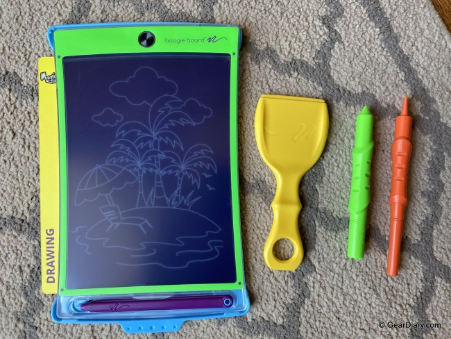 Boogie Board Magic Sketch Is a Fantastic Educational Toy for Elementary-Aged Children
