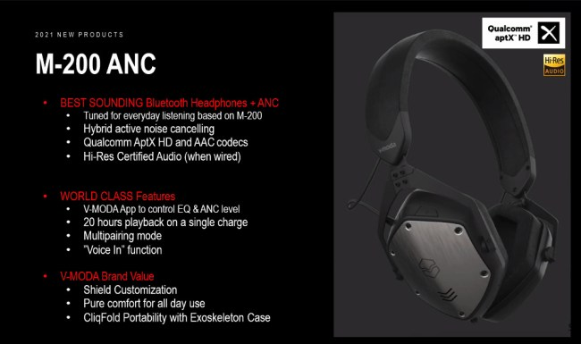 V-MODA M-200 ANC: The Brand Enters an Exciting New Era by Announcing Their First ANC Headphones