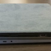 """Lenovo Flex 5 14"""" 2-in-1 on the bottom; Microsoft Surface on top."""