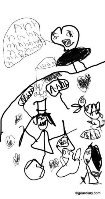Oaxis myFirst Sketch Book app