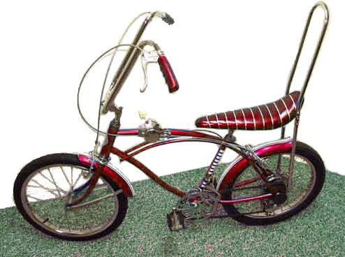 Vintage Bicycle with banana seat