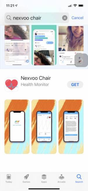 NEXVOO NEXCHAIR app
