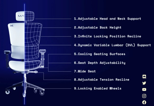 Mavix M5 Gaming Chair