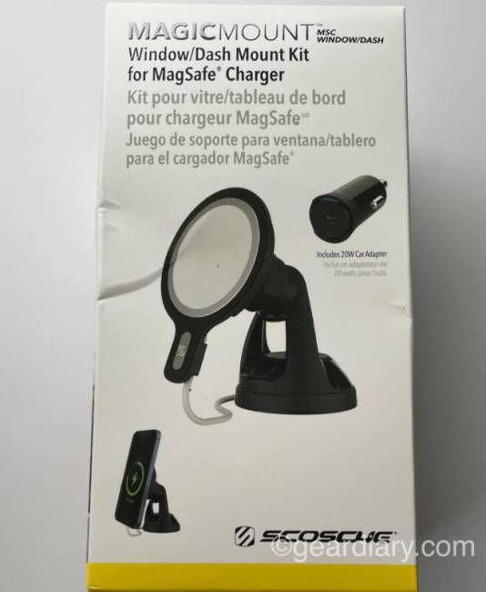 Scosche MagicMount for MagSafe Charger