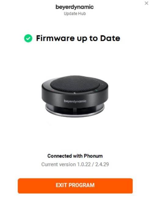 Beyerdynamic PHONUM Update