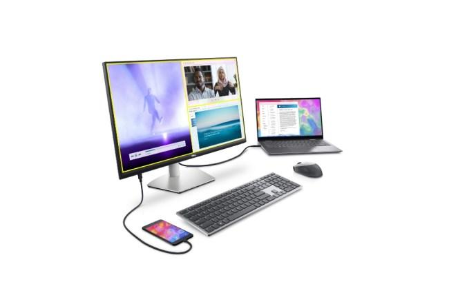 Dell 27 4K UHD USB-C Monitor (S2722QC) and Dell 27 USB-C Monitor (S2722DC)