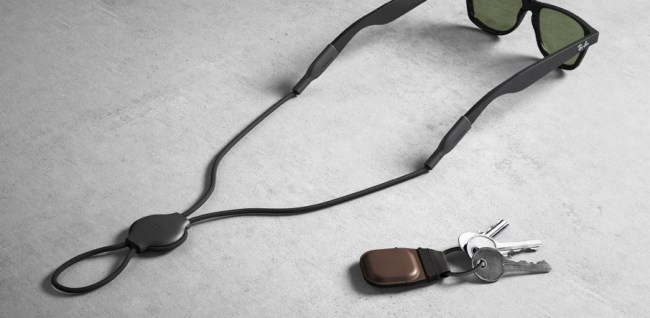 Nomad Leather Keychain for AirTag and Glasses Strap for AirTag