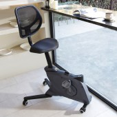 The Flexispot Sit2Go 2-in-1 Fitness Chair in black