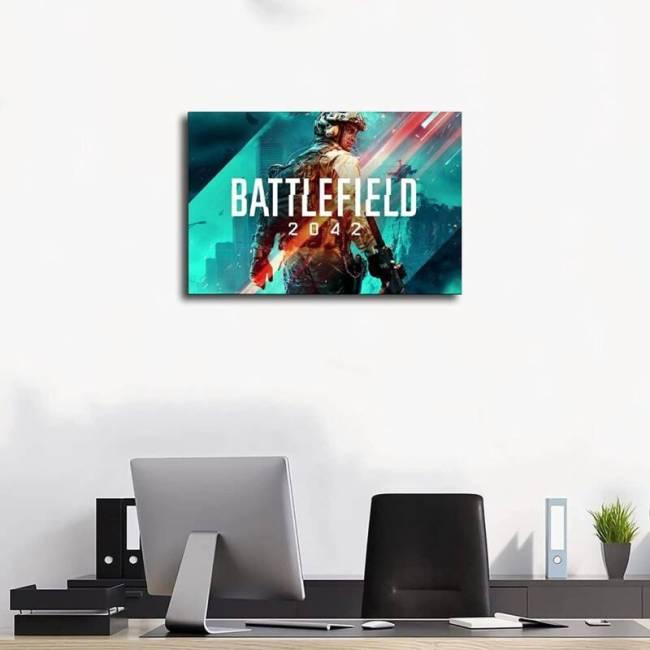 Battlefield 2042 HD Art Poster