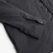Detail on the Olivers Stadium Shirt Jacket cuff.