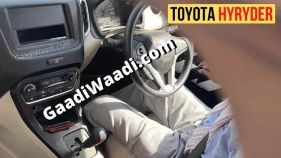Toyota hyryder EV