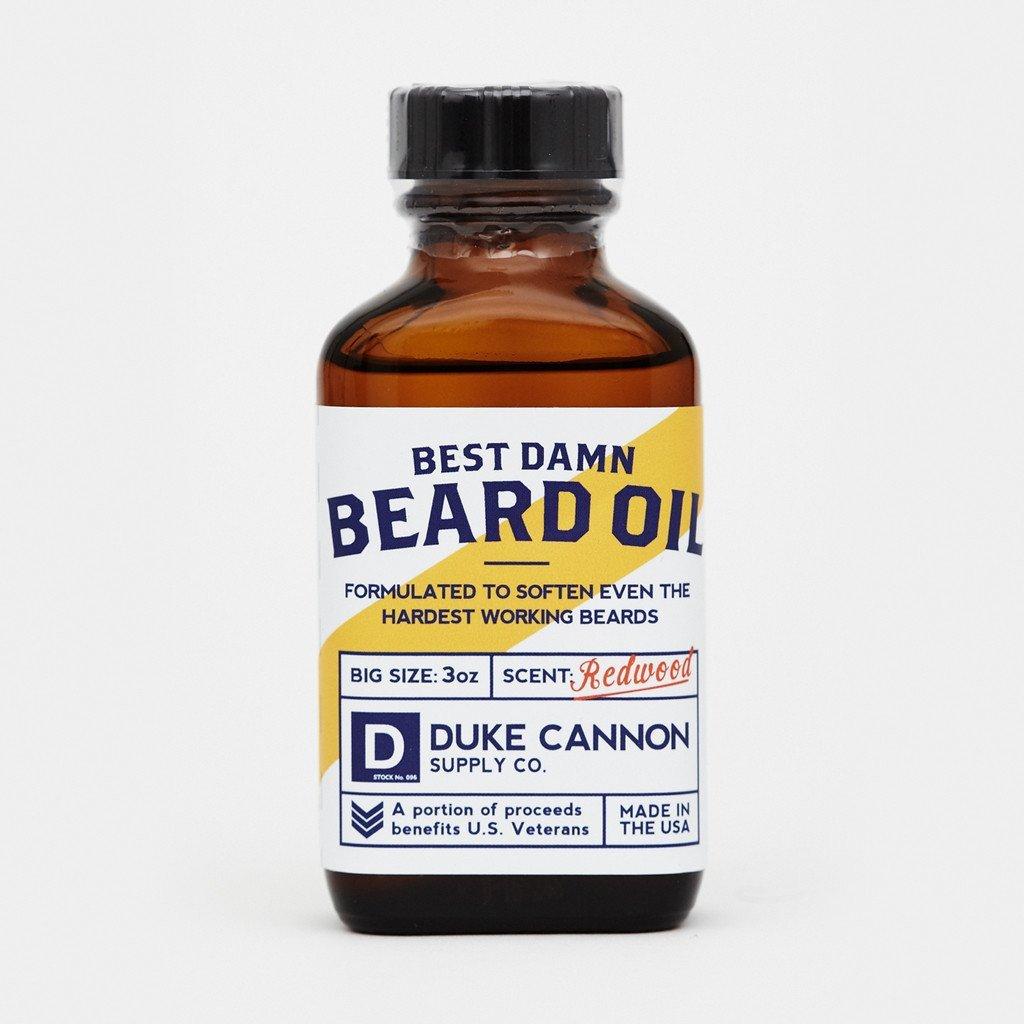 Duke Cannon Best Damn Beard Oil: Taming the Unruly Beard