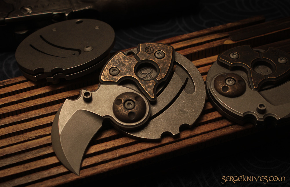 Go Medieval With Serge Knives Coin Claws