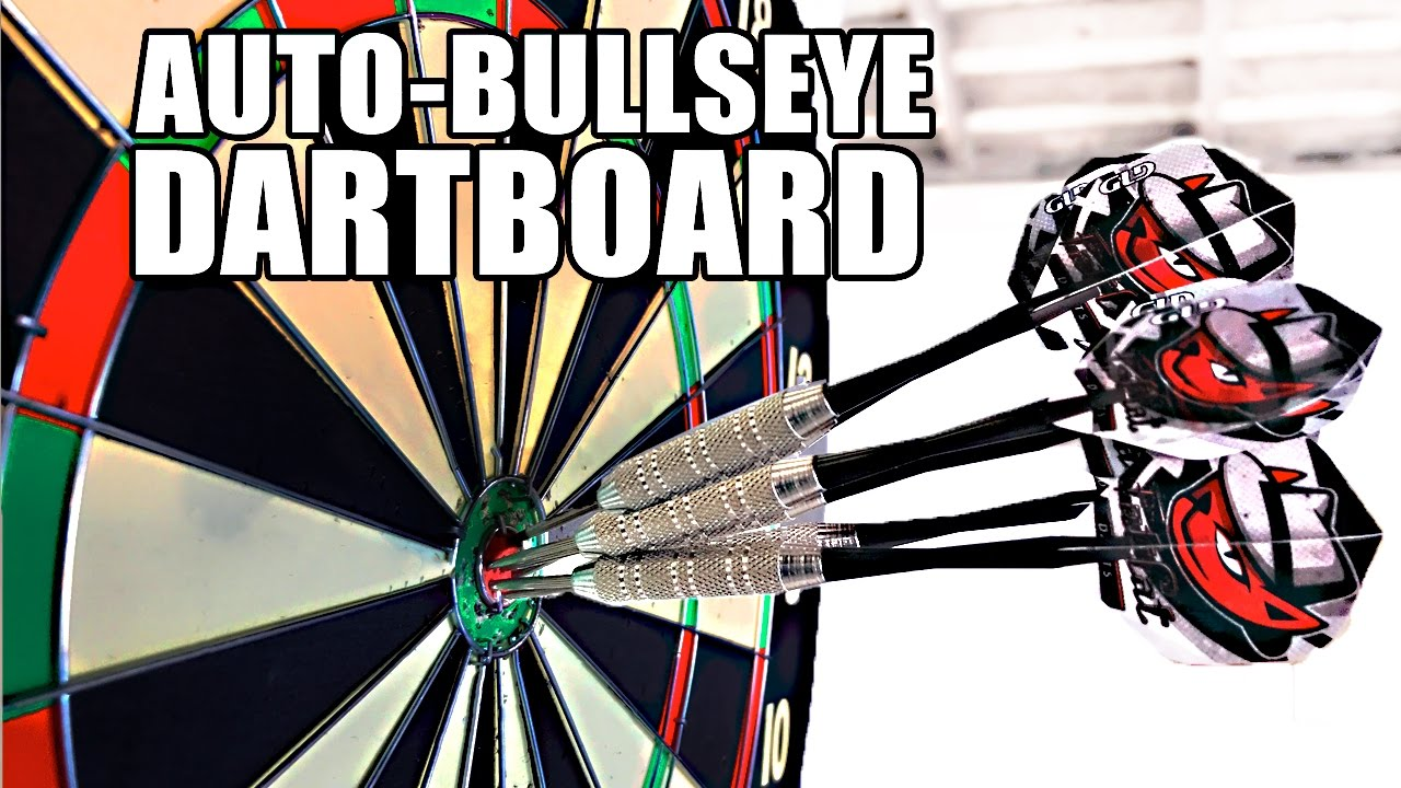 Automatic Bullseye MOVING Dartboard