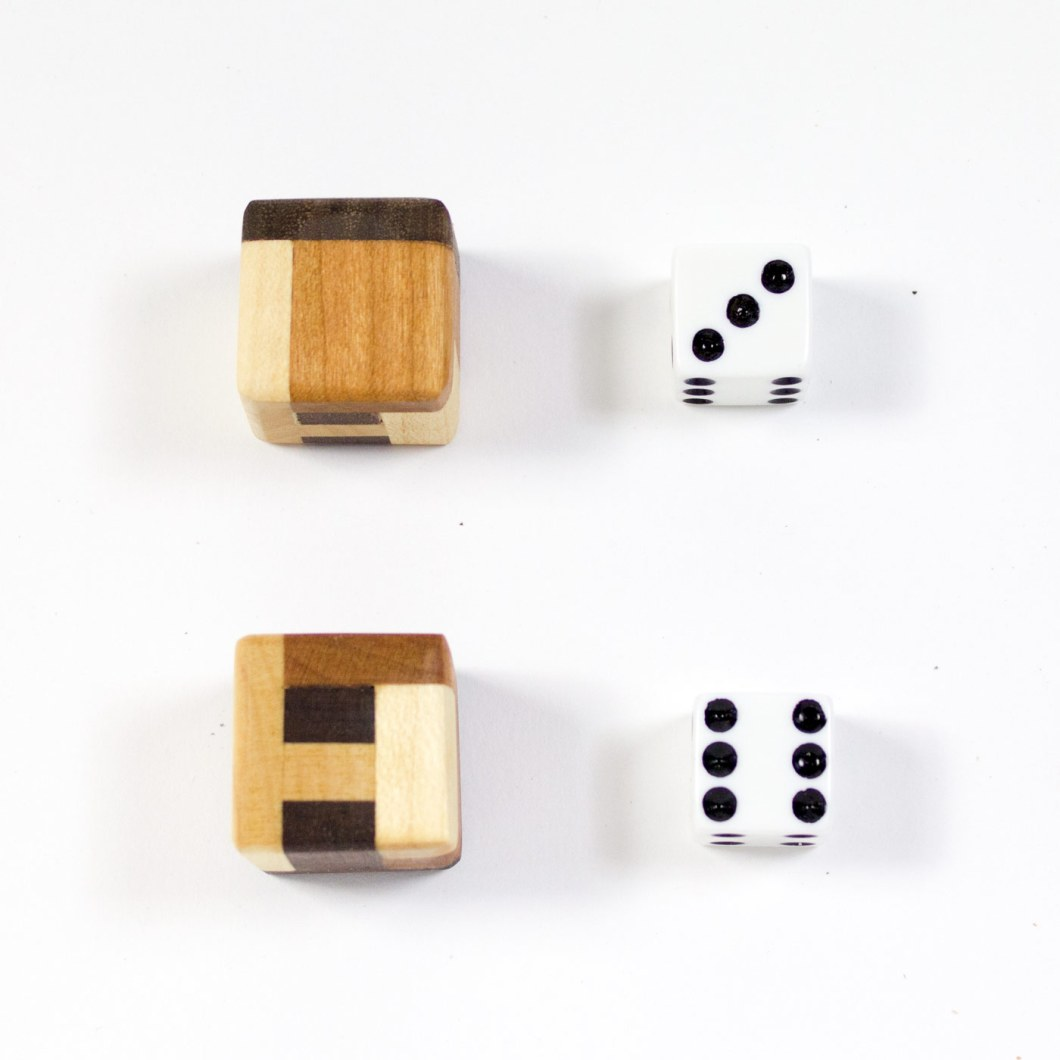 Boxwood Genius Dice: Count the Wood Types