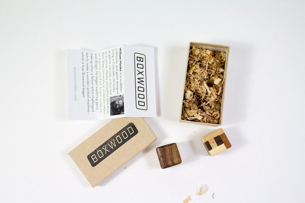Boxwood Genius Dice: Count the Wood Types
