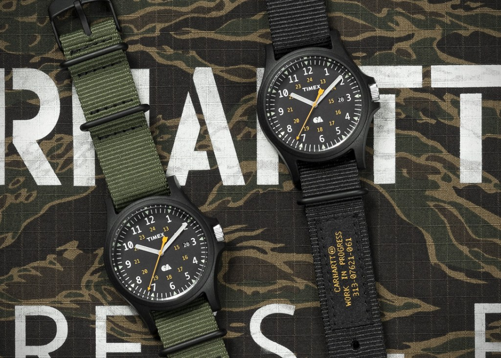 Timex X Carhartt WIP Watch – Style and Rugged Meshed
