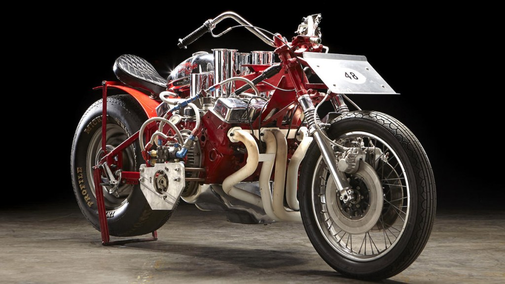 EJ Potter Chevrolet V8 Widowmaker 7 Dragbike