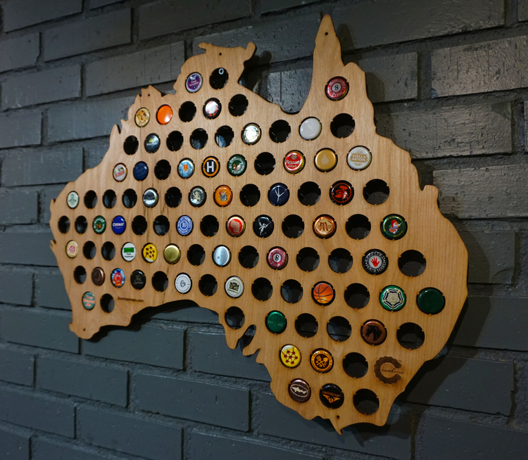 Beer Caps Maps–And Puzzles. All Things Beer Caps!