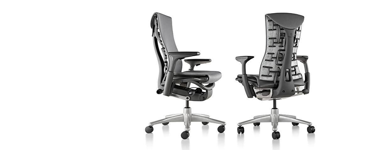 Delightful Herman Miller Embody Office Chair
