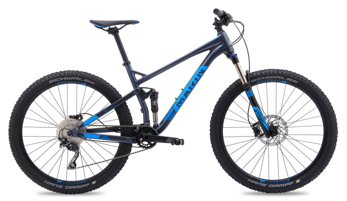 Marin Hawk Hill Mountain Bike
