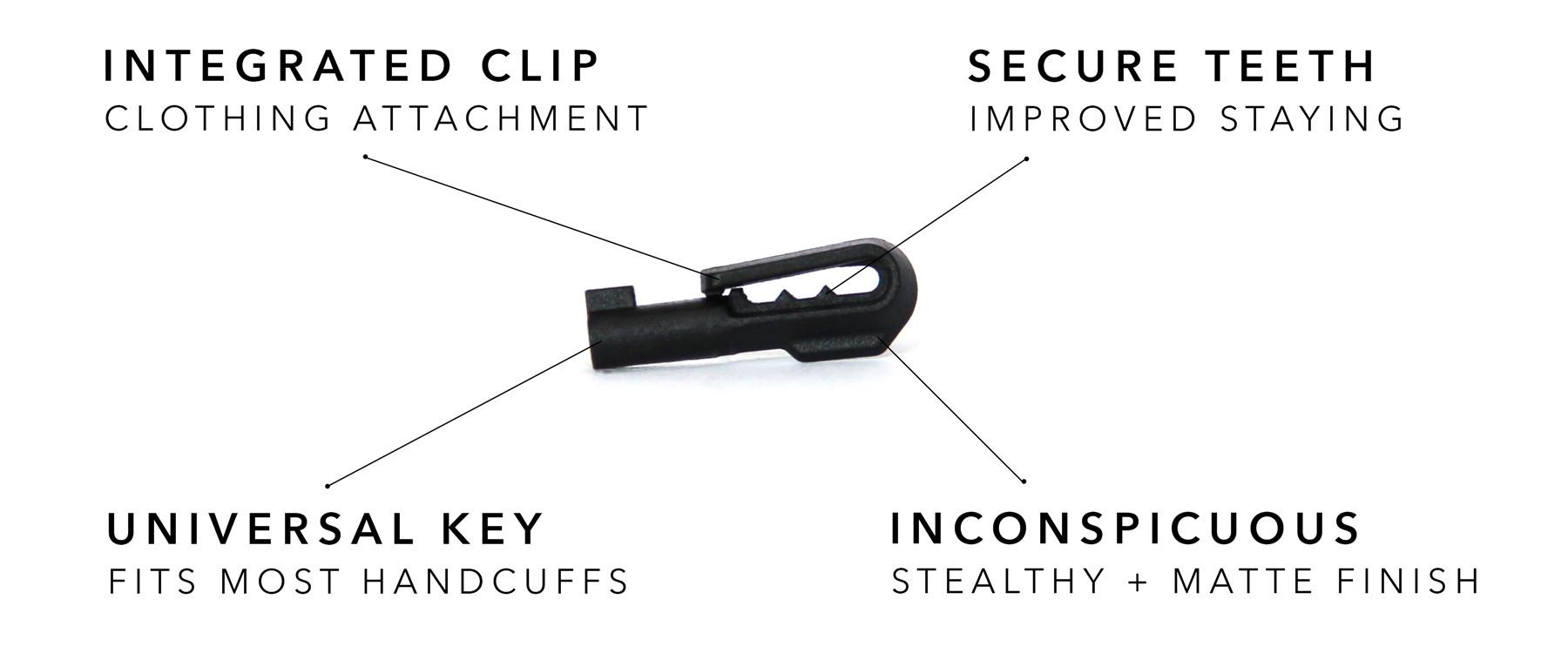 TIHK HK2 Handcuff Key