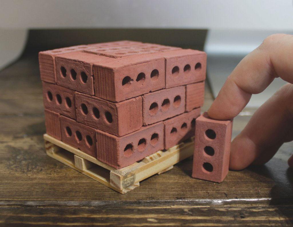 Mini Building Materials – Desktop Construction Productivity