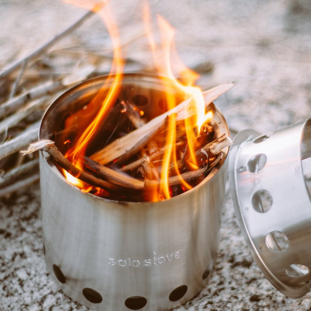 The Solo Stove Lite: A Wood Burning Backpacking Stove