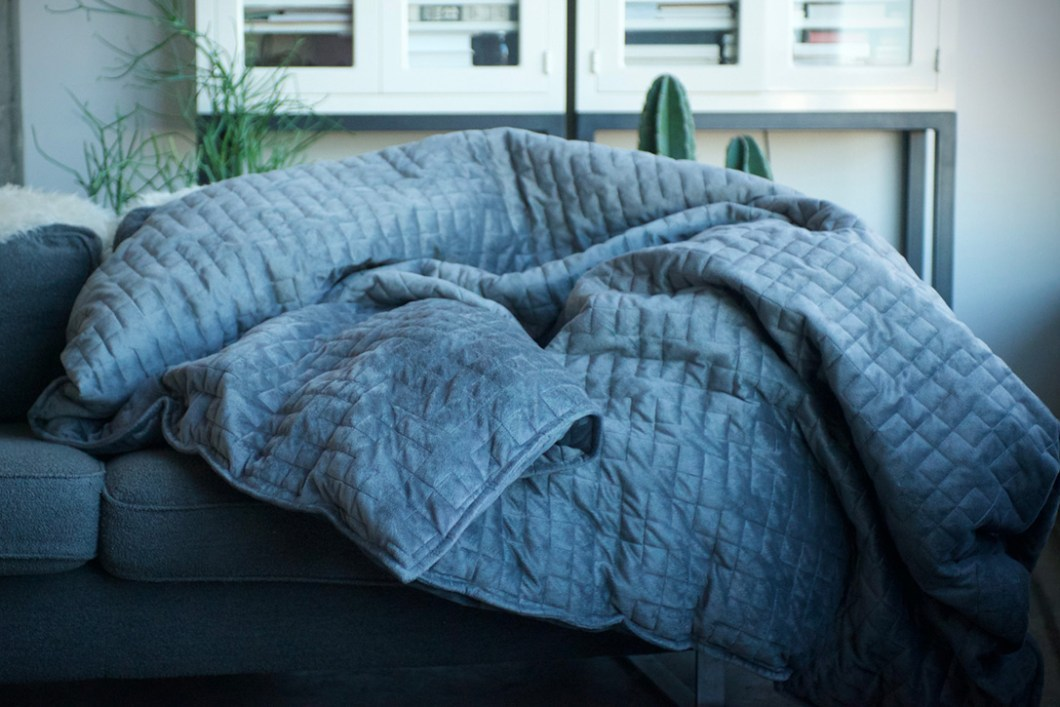 The Gravity Weighted Blanket That Helps You Sleep