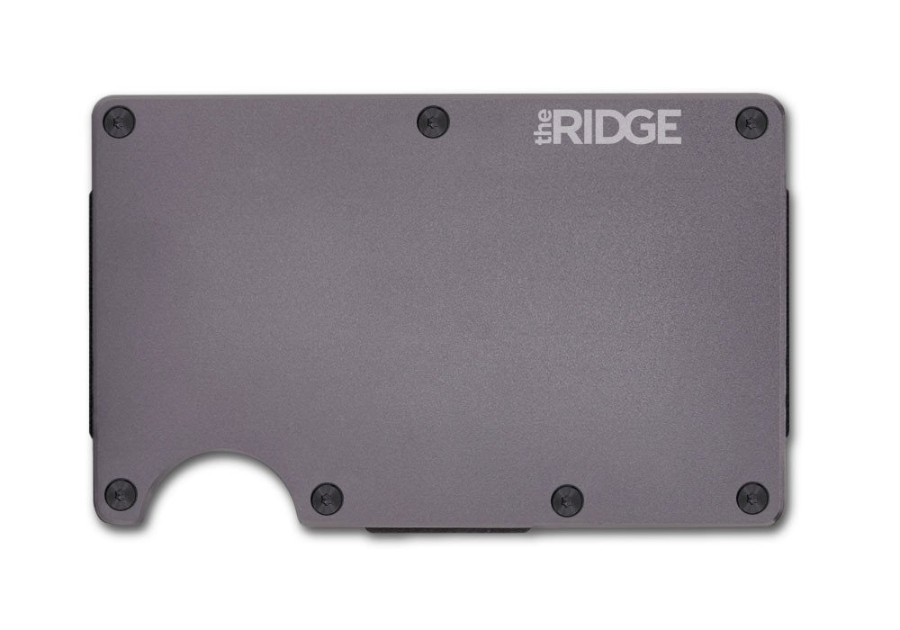 The Ridge Wallet: An Aluminum Wallet and Money Clip perfect for EDC