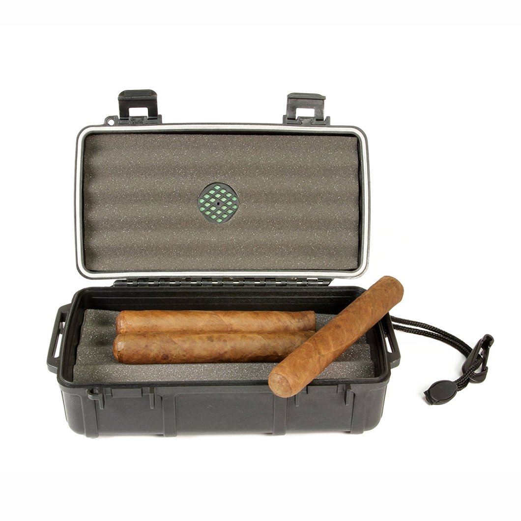 The Cigar Caddy Travel Humidor Brings Your Smokes With You